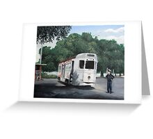 West End Terminus Greeting Card