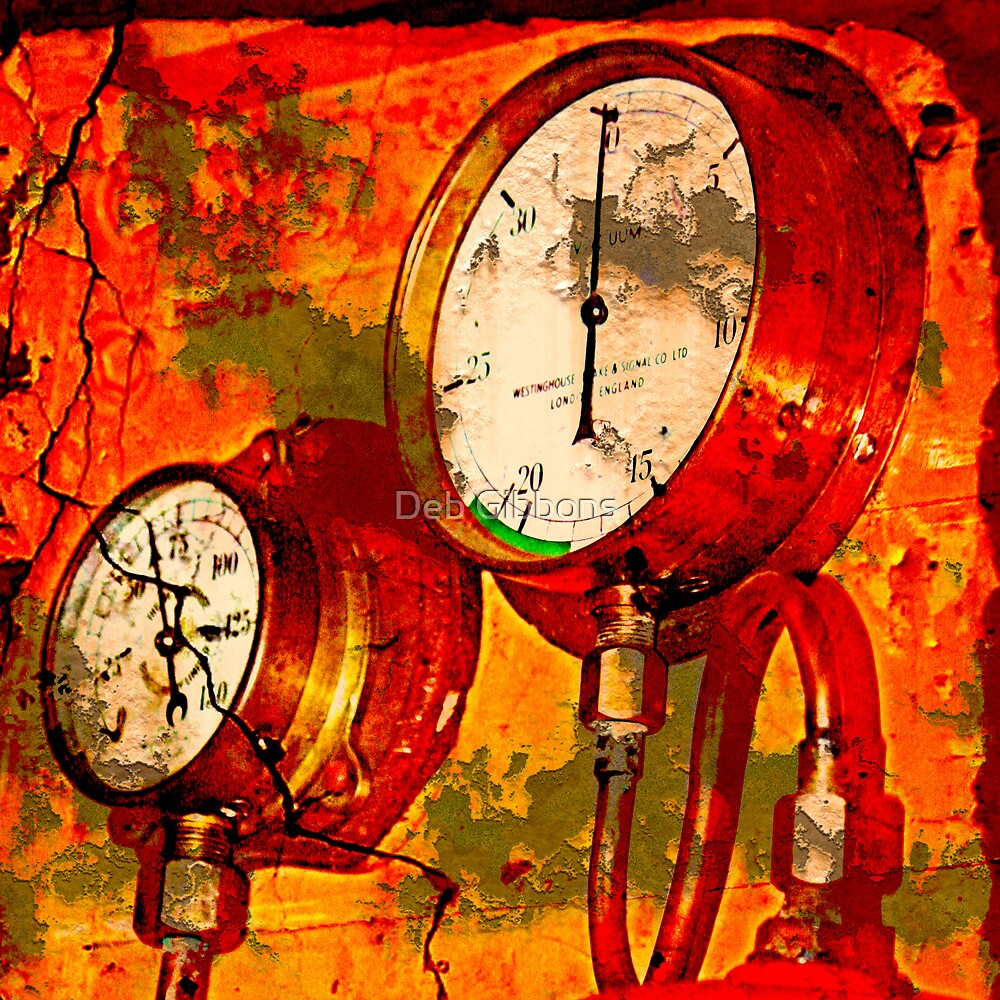 Queenscliff Steam Train Instruments by Deb Gibbons