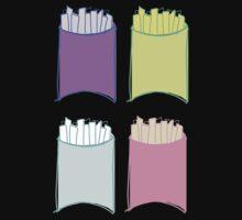 Neon French Friessss by AllieJoy224