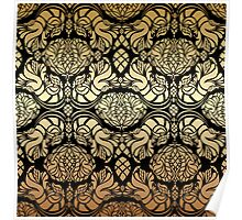 Floral ornament Poster