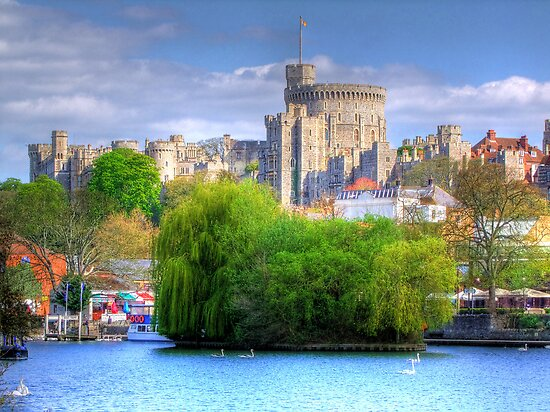 Windsor Castle and the River Thames - HDR by Colin J Williams Photography