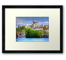 Windsor Castle and the River Thames - HDR Framed Print