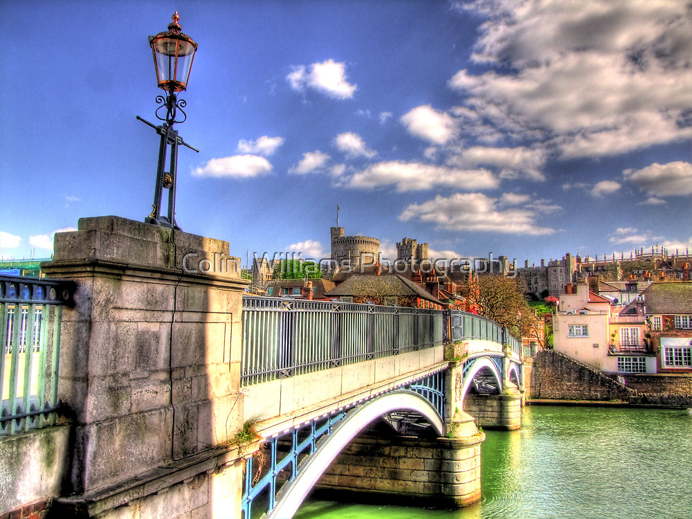 Old Windsor Bridge - HDR by Colin  Williams Photography