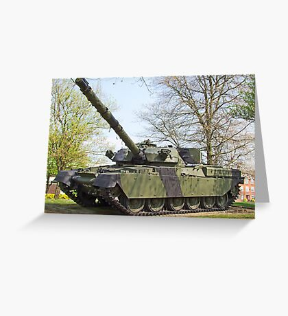 Cheftain Tank Greeting Card