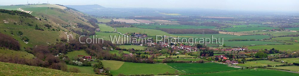 Devils Dyke Brighton - The Fulking Escarpment  by Colin  Williams Photography