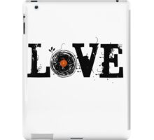 Love Vinyl Records - Grunge Vintage T Shirt iPad Case/Skin