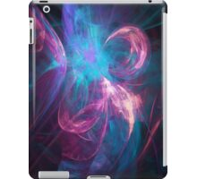 Alien Code 3 Teal Magenta iPad Case/Skin