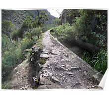 Aqueduct Walk in Werribee Gorge State Park-one Poster