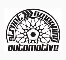 Street Sweeping Automotive Logo One Piece - Long Sleeve
