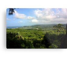Barbados East Coast View - Farley Hill, Barbados Metal Print