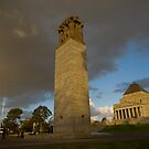 The Shrine of Remembrance by Michael Eyssens
