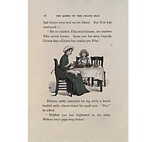 The Queen of Pirate Isle Bret Harte, Edmund Evans, Kate Greenaway 1886 0022 Tea Photographic Print