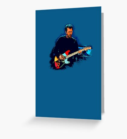 Live Guitarist Session (1) Greeting Card