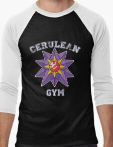Cerulean Gym Men's Baseball ¾ T-Shirt