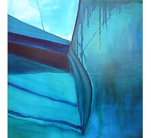 Yacht Reflected - oil on canvas 2010 Photographic Print