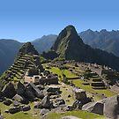 Machu Picchu, Peru by Bruno Beach