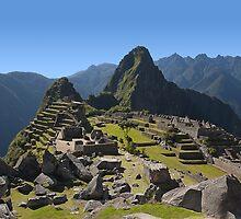 Machu Picchu, Peru by Atanas Bozhikov NASKO