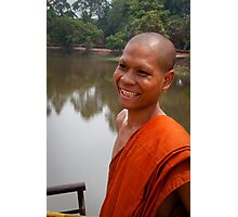 The Happy Monk Photographic Print