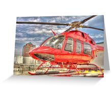 Baltimore Helicopter Services Greeting Card