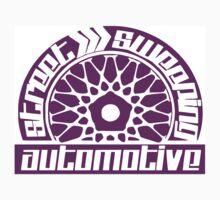 Street Sweeping Automotive Logo Purple by chris12677