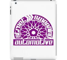 Street Sweeping Automotive Logo Purple iPad Case/Skin