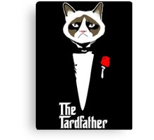 Grumpy Cat The Tardfather Canvas Print