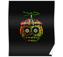 Five Nights at Freddy's 3 - Pixel art - Phantom Balloon Boy Poster