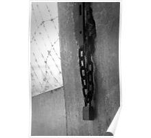 S21 prison padlock Poster