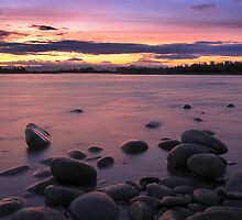 Talkeetna River Sunset by Hauke Steinberg