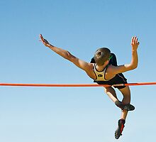 High Jumper by Peggy  Woods Ryan