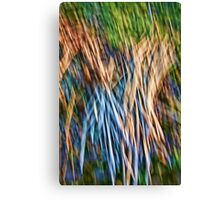 Brush Abstract Canvas Print