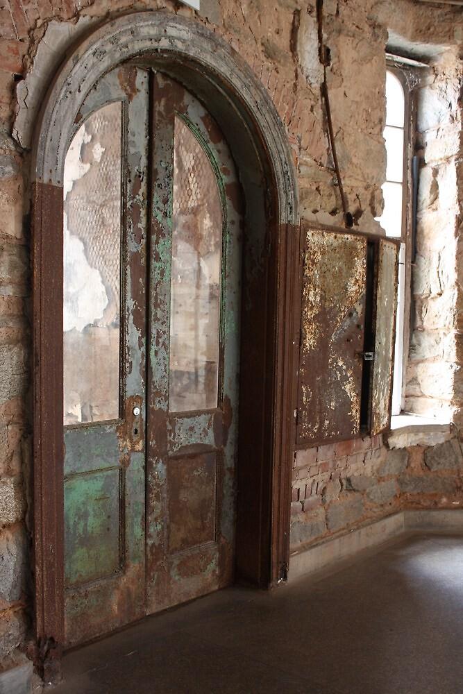 Eastern State Penitentiary Cellblock Door by CrisPizzio