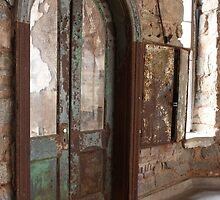 Eastern State Penitentiary Cellblock Door by CrisPizzio