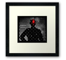 Subject: What you know 3. Framed Print