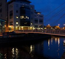 leeds at night by becky rose