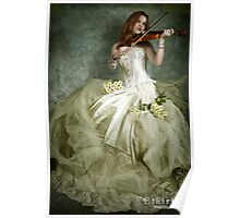 Music And Fine Lace Poster