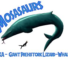 Mosasaurs by pmraptor115