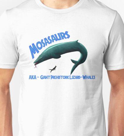 Mosasaurs Unisex T-Shirt