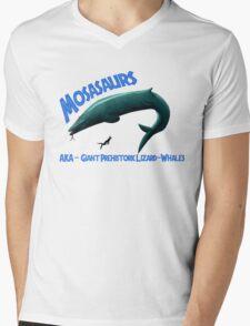 Mosasaurs Mens V-Neck T-Shirt
