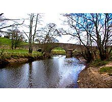 The Bridge at Semer Water - Yorks Dales. Photographic Print