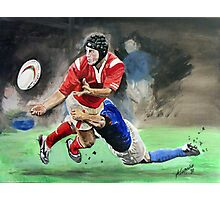 The Tackle Photographic Print