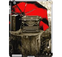 A Pause for Daydreams - Red iPad Case/Skin