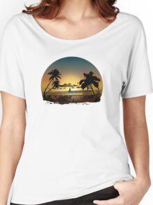 Sunset (2) Women's Relaxed Fit T-Shirt