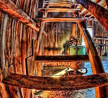 Barn Steps by ezindo