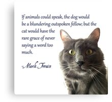 If Animals Could Speak Canvas Print