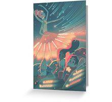 Steven Universe fun land Greeting Card