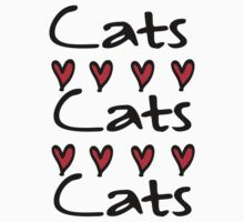cats cats Kids Tee