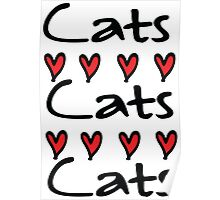 cats cats Poster