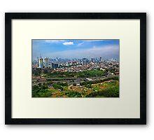 Beautiful City  Framed Print