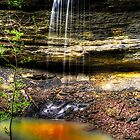 Dockery Gap Falls - Ozark National Forest - Arkansas by Scott Ward